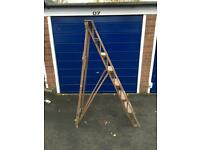 WOODEN STEP LADDERS FOR SALE