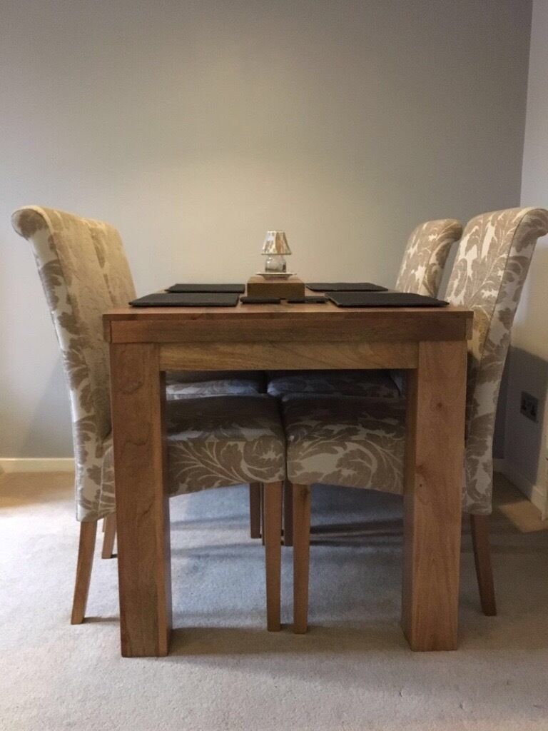 Oak Furniture Land Second Hand Mango Wood Dining Table And