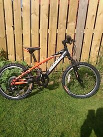 Childs giant XTC , 20 inch wheel , 7 speed revo gears. Would suit 5-7 year old