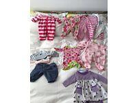 0+ New baby girl bundle