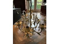 Laura Ashley Wraught Leaf Chandelier