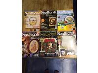 90 Various Needlecraft magazines £25 ono