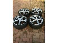Dezent L 17 inch wheels