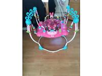 Minnie Mouse jumperoo excellent condition pick up Irlam