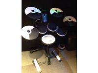 Roland TD1KV digital drum kit with extra ride cymbal-almost as new