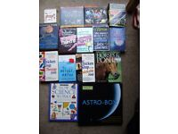 Books , variety of fiction and non fiction