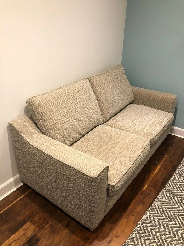 Sofa Bed with sprung mattress from Furniture Village   in ...