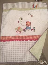 Mamas and Papas cot bedding x 4 items