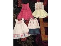Sure cute girls age 2-3 bundle 3 sets never worn ! Next / baby k Butterfly girl