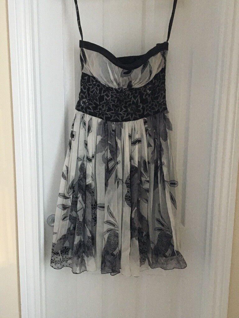 Black and grey dress size medium