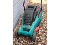 Bosch grass cutter & FREE qualcast strimmer