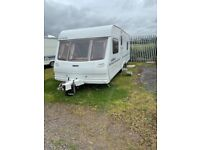 Lunar Lexon EW year 2003 four berth with fixed bed at rear Excellent condition