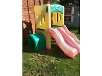 Little Tikes Twin Slide Tunnel climbing frame