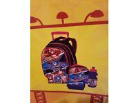 DC superhero comics school bag pack BRAND NEW