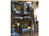 5 piece power tool set £10