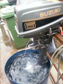 Suzuki 6hp Longshaft