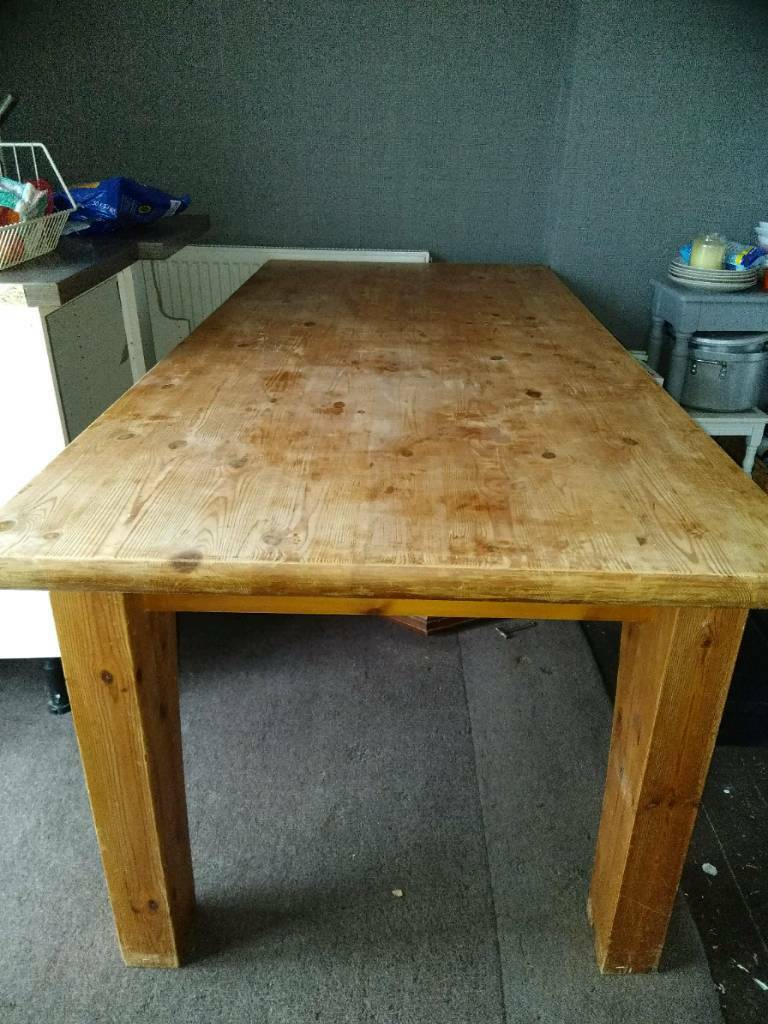 Large Habitat Dining Table £295 ono