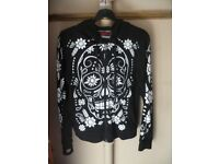 Ladies Jawbreaker skull hoodie for sale
