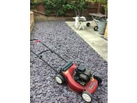 MOUNTFIELD metal deck lawnmower. SOLD SOLD SOLD thanks G