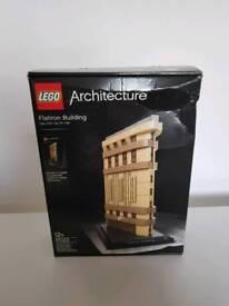 Brand New Sealed Lego Architecture Flatiron Building 21023