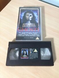 Michael Jackson's Ghosts VHS