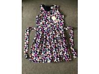 Yumi Girls Floral Dress Age 13-14 BNWT
