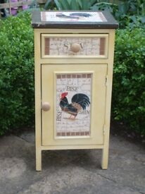 "French Rustic Style ""Chicken"" Mosaic Cupboard"