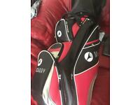 Motocaddy large trolley golf bag and head cover