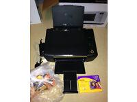 Kodak ESP C110 Printer and Scanner (Installed Ink + 6 Spare Ink Cartridges)