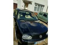 Vw golf spares or repair