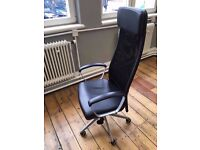 IKEA Markus Swivel High Back Office Chair - Immaculate Condition
