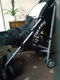 O'baby buggy +cosy toes + rain cover