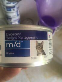 Hills MD Diabetic Cat Food