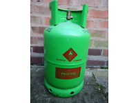 Empty 11Kg Flogas patio propane bottle cash on collection price ONO delivery possible see details