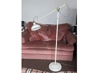 Ikea Floor/reading lamp, off-white, good condition