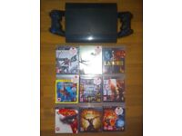 Ps3 Superslim 320 GB With 9 TOP Games + 2 controllers