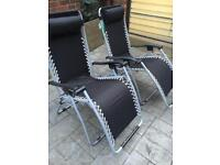 2 loungers for sale