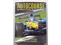 AUTOCOURSE 2005-2006 The World's Leading F1 Grand Prix Annual
