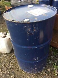 200lt oil barrel