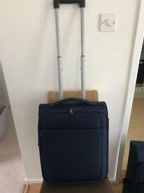 Cabin 2 wheel soft suitcase - M&S - Navy