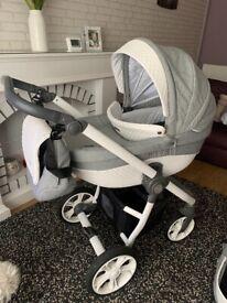 Babystyle Pram, Pushchair & car seat bundle