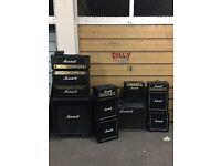 Marshall amp/elvis microphone job lot