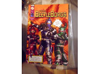 saban's beetleborgs style guide n°1 edition and number 2