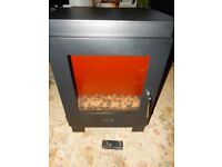 SPARES OR REPAIR CELSI Electristove Electric Stove Fire Heater Remote Super Heavy