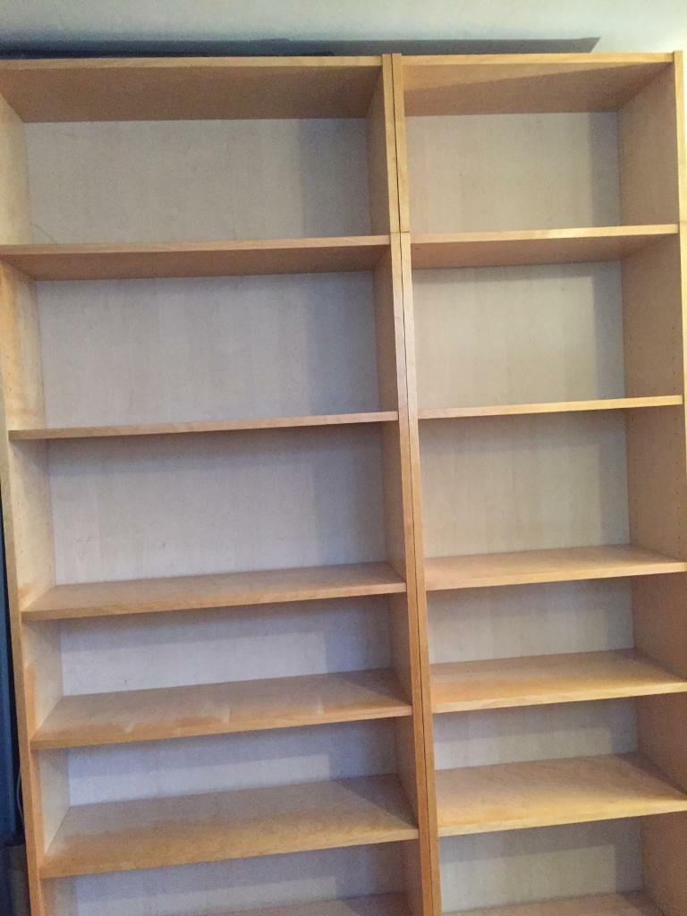 Ikea Billy bookcases with vertical extension free for today only