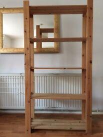 5 tier Wooden Shelving Unit