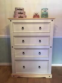Solid Wood tall chest drawers