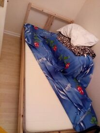 Single bed frame with mattress ASAP Willing to negotiate!!