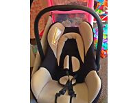 *Cushioned Baby car seat* (Newborn-10 months approx)