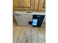 Acer RC271U 27 Inch Ultra Slim Monitor - Boxed - Unused. *PRICE REDUCED*
